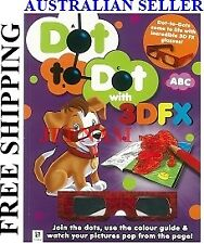 Dot to Dot with 3DFX ABC, ( 32 pages ) + FREE SHIPPING