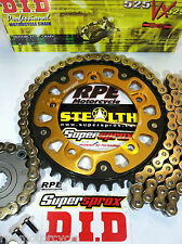 Suzuki GSXR1000 2001-2006 DID Gold Chain and Sprocket Kit 17/42 oem or Custom