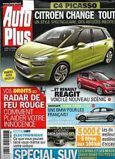 AUTO PLUS N°1275 11 FEVRIER 2013   CITROEN C4 PICASSO/ SPZCIAL SUV/ ELECTRONIQUE