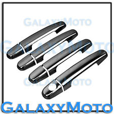 02-11 Toyota RAV4 Black Chrome plated 4 Door handle w/o Passenger Keyhole Cover