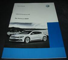 SSP 419 VW Scirocco III Typ 13 Modell 2009 Selbststudienprogramm Juli 2008
