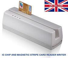 MSR 206 IC chip and magnetic stripe card encoder reader writer new model of MSR