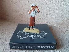 Figurine métal Tintin Le Crabe aux pinces d'or MOULINSART