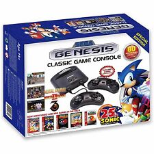AtGames Sega Genesis Classic Game Console with 80 Built-In Games - FREE SHIP