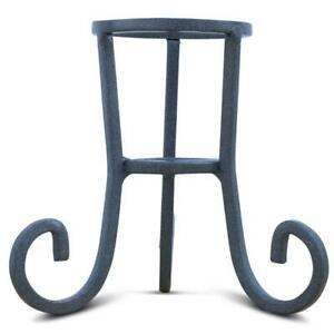 Black Wrought Iron Metal Egg Stand Holder 4.25 Inches