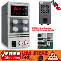 KPS1203D Adjustable Switch DC Power Adapter Supply Output 0-120V AC110V 0-3A