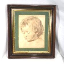 RUBENS Head Of A Boy Framed Print
