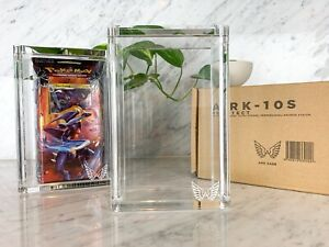ARK-10S Clear Acrylic Display Box Sealed Case fits Pokemon Modern Era Theme Deck