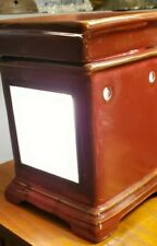 """SCENTSY Full-Size Wax Warmer -- """"Snapshot"""" Picture Frame -- Retired  w/ Bulb"""