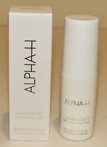 Alpha H Liquid Gold Midnight Exfoliating Treatment 1.01 Oz 30 mL NIB Travel Size