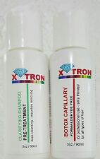 X- TRON like HAIR-BOTOX  - straight FORMALDEHYDE FREE  For All hair types. 2 oz