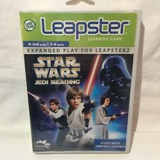 LeapFrog Star Wars Learning Game Leapster Jedi Reading 2009 NEW Sealed