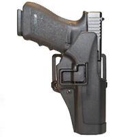 Blackhawk Serpa CQC OWB Holster For Glock Pistols Black Matte