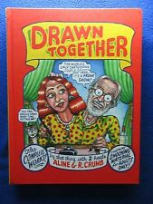 Drawn Together Hardcover By Aline & R.Crumb ~ Knockabout Pub. ~ 1St Print 2012