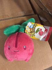 "Pokémon Johto Edition 6"" Plush Cherubi, Cute And Fun!   licensed REAL Jakks"