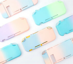 Kawaii Gradient Hard Case Cover for Nintendo Switch Lite Snap on Case Full Cover