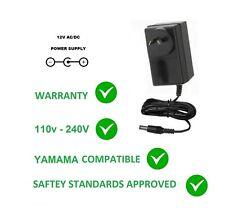 12V DC POWER SUPPLY ADAPTER FOR YAMAHA DX100 DX-100 DX27 DX-27 240V 12 V+ 2A