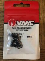 Vmc acceptable method feeder barbless bait band 7016b 8pcs 15cm loop leader