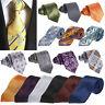 Fashion Men's Necktie Jacquard Tie Silk Business Office Casual Wedding Party Tie