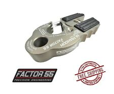 Factor 55 UltraHook Shackle Mount with Titanium Pin - Gray 00250-06