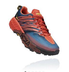 Hoka One One Speedgoat 4 Wide Trail Running Shoes - UK10 - Immaculate - RRP £125