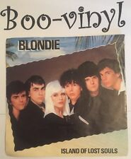 """Blondie Island Of Lost Souls 7"""" Picture Sleeve Punk New Wave Debbie Harry Ex Con"""