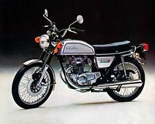 1975 Honda CB200t Motorcycle, Black, Refrigerator Magnet, 40 MIL