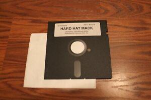 "Hard Hat Mack Apple II Game on 5.25"" disk - Tested"