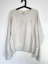 Maison Kitsune x Reebok RARE Baseball Crew Cream Sweatshirt