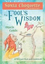The Fool's Wisdom by Sonia Choquette (2012, Cards,Flash Cards)