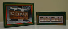 North Pole Express Resin Christmas Train Lot ( 40155  - 80711 )