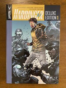 Harbinger Deluxe Edition Vol. 1 HC Hardcover GN OOP Valiant Comics 2013 Dysart
