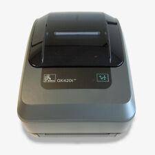 Zebra GK420t USB Serial Thermal Transfer Label Printer GK420 GK42-100120-000