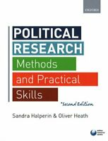 Political Research Methods and Practical Skills by Sandra Halperin 9780198702740