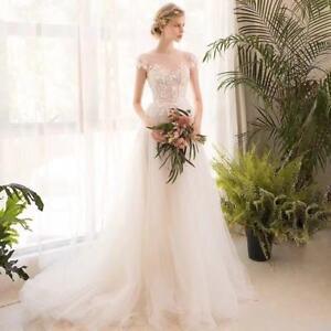 Luxury Tulle Wedding Dresses Custom Made