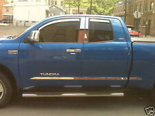 Chrome Molding Trim Accent for 2007-2018 Toyota Tundra Crew Max 5.5' Bed