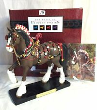 Trail of Painted Ponies King of Hearts Clydesdale Draft Horse 1st Edition NIB!