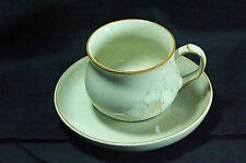 DENBY DAYBREAK PATTERN TEA CUP & SAUCER POTTERY - STONEWARE TABLEWARE