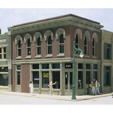 Woodland Scenics 11500 The Other Corner Cafe Ho Scale Trains Kit Building