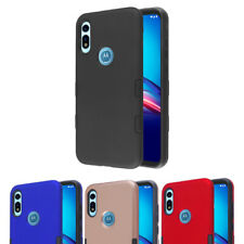 LG K51 Reflect Hybrid Rubber Rugged Protective Shockproof Phone Case Hard Cover