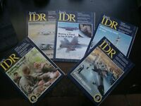 Job lot - 5 x Jane's International Defense Review 1998 - IDR