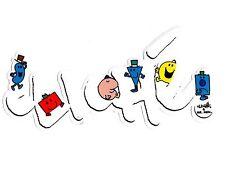 """CLICHE/Mr Men """"Logo"""" Skateboard Sticker 16 CM x 8 cm Snowboard Camper"""