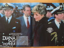 LADY DI DIANA Guerre du Golfe Coupure de presse 2 pages 1991 - French Clippings