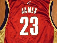 Vintage LeBron James #23 Cleveland Cavaliers Jersey by Reebok, Youth XL, NICE!!!
