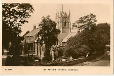WISBECH ( Cambridgeshire) :St Peter's Church RP-KINGSWAY