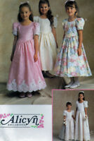 NEW McCalls 8640 Alicyn Formal Flower Girl Party 2 Lengths Dress Pattern 7-10