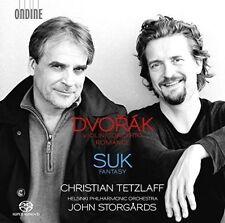 Dvorak Violin Concerto/romance Christian Tetzlaff Audio CD