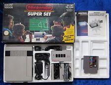 Nintendo NES Konsole inkl. Super Mario Bros., Tetris + World Cup Spiel,  OVP