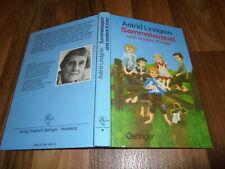 Astrid Lindgren + Illus. Ilon Wikland -- SAMMELAUGUST // Oetinger Verlag 1985