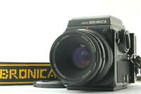 【 EXC+++++】 Zenza Bronica SQ-Ai 6x6 Camera Zenzanon PS 80mm f2.8 Lens from Japan